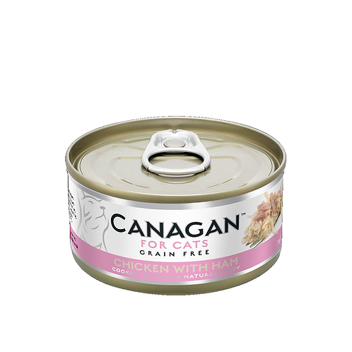 CANAGAN CHICKEN WITH HAM FOR ALL LIFESTAGES 75g