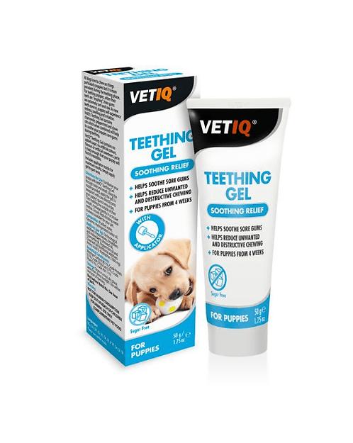 Vetiq Teething Gel, Soothing Relief, 50g