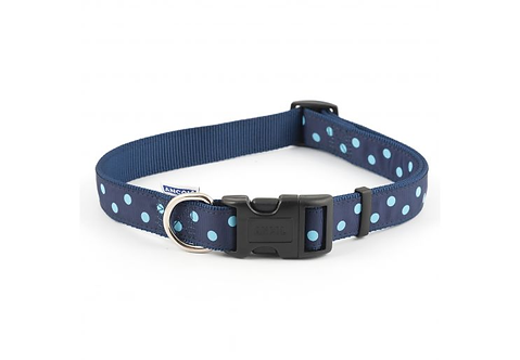 VINTAGE POLKA COLLAR BLUE. Price from