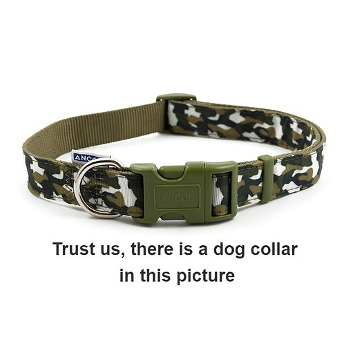 GREEN COMBAT COLLAR. Price from