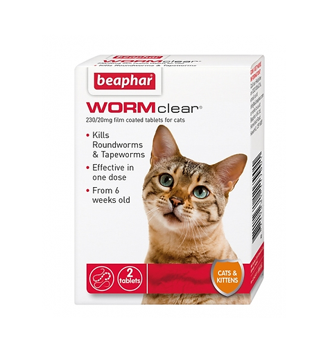 Beaphar WORMclear® Tablets for Cats