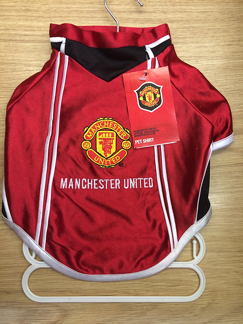 Manchester United Football Shirt For Dogs