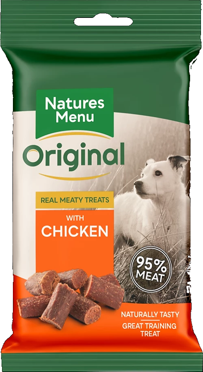 NATURES MENU TREATS  CHICKEN  FOR DOGS 60g