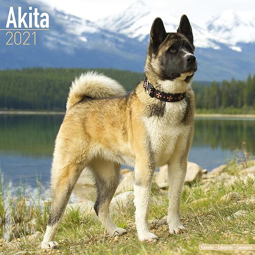 2021 Akita Calendar