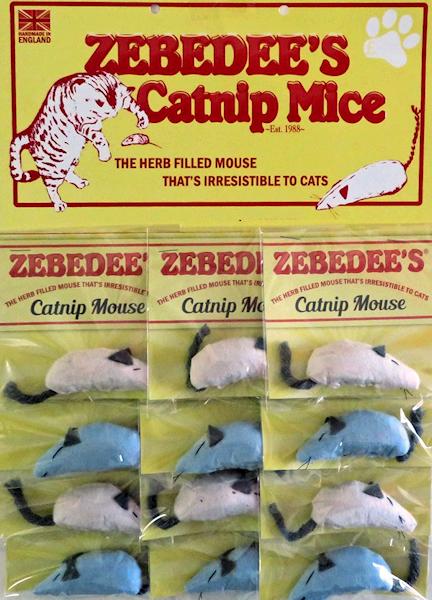 Zebedee's Catnip Mouse