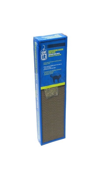 Cat Scratching Board with catnip, Small