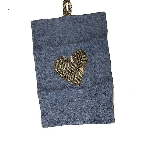 Blue Guest Towel