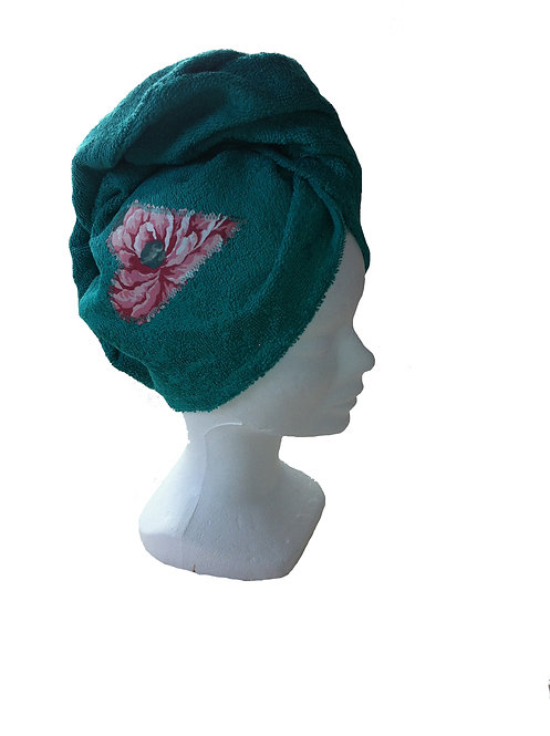 Turquoise turban