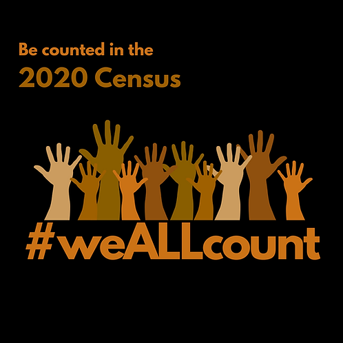2020 Census Hands Up