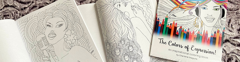 The Colors of Expression Coloring Book