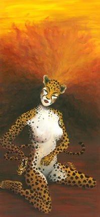 Cheetah Woman