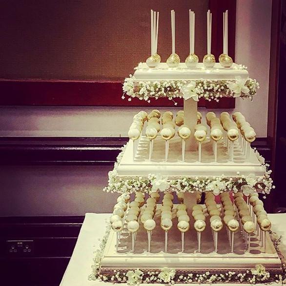 Cakepop tower