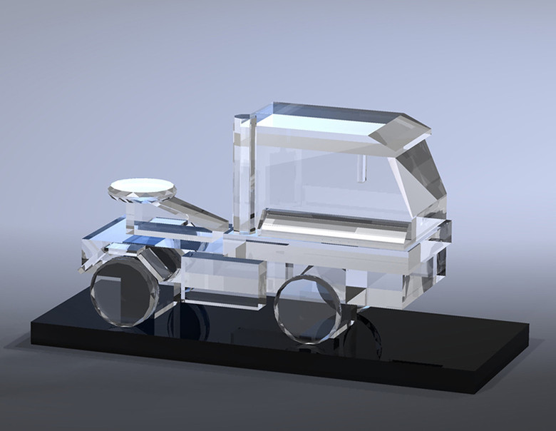 Crystal Award Concept