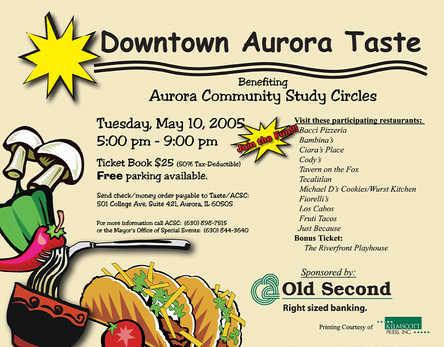 Downtown Aurora Taste