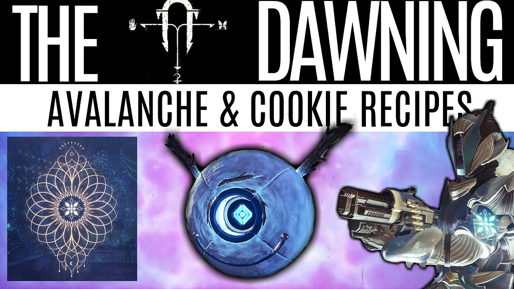 DESTINY 2 THE DAWNING - How To Get Avalanche & Event Round-Up