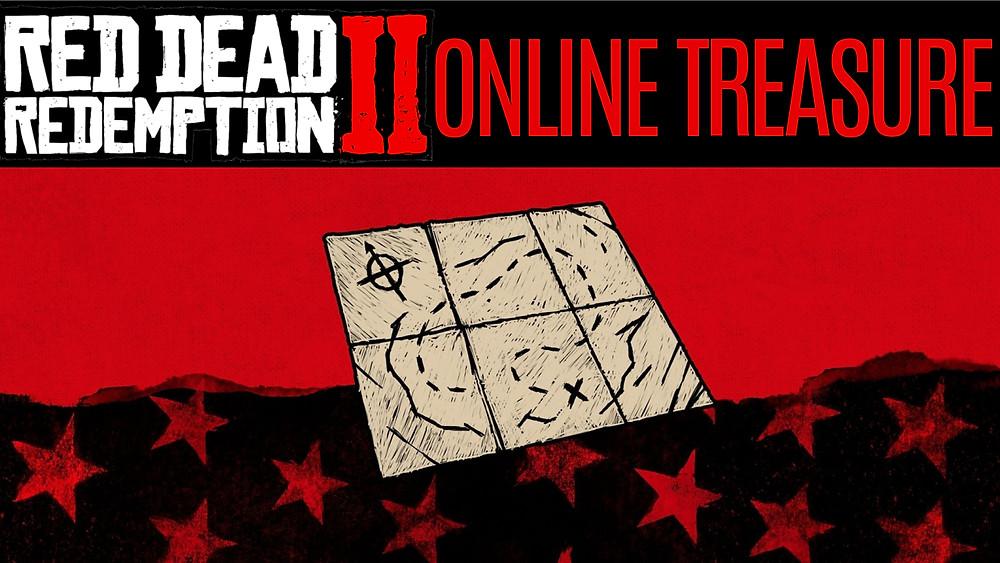 RED DEAD 2 ONLINE Treasure Map - Bard's Crossing