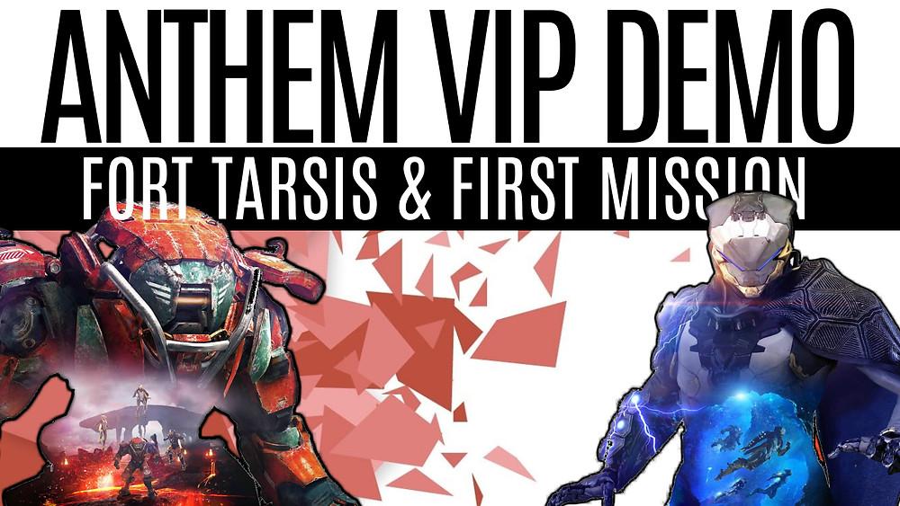 ANTHEM - VIP Demo, Anthem First Mission, Anthem Gameplay & Fort Tarsis
