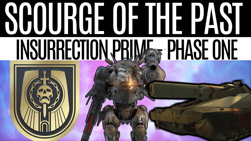 DESTINY 2 - Scourge Of The Past Raid Guide, Insurrection Prime Phase One
