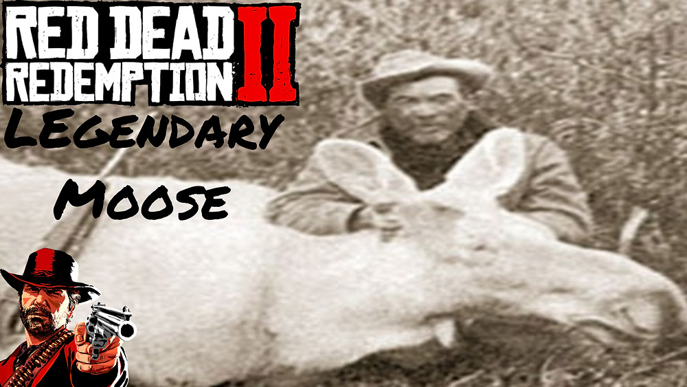 red dead redemption 2, legendary moose, only bow