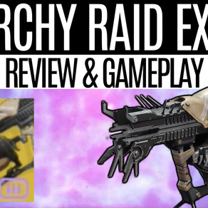 DESTINY 2 - Anarchy Gameplay, Raid Exotic Review, How to Get Anarchy