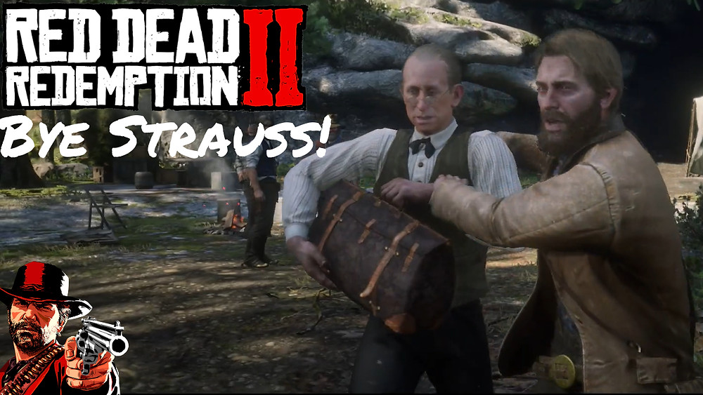 red dead redemption 2 kicking out strauss chapter 6