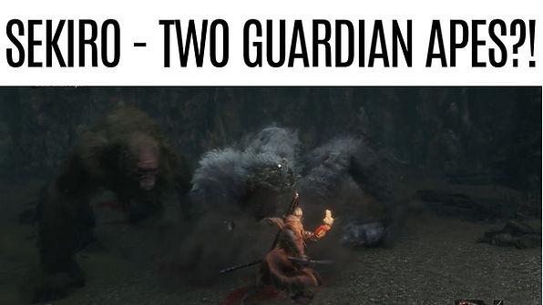 SEKIRO-TWO-Guardians-Apes! Headless-Ape-