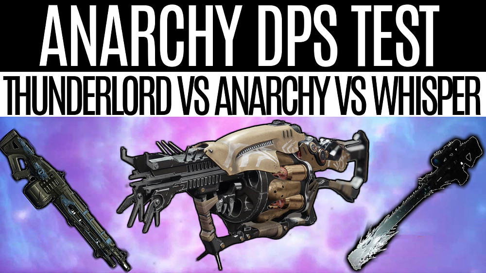 DESTINY 2- Anarchy DPS Test, Thunderlord Vs. Anarchy Vs. Whisper Of The Worm