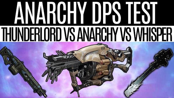 DESTINY 2-Anarchy-DPS-Test, Thunderlord-
