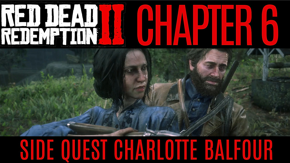 RED DEAD 2 CHAPTER 6 Side Quest - Charlotte Balfour