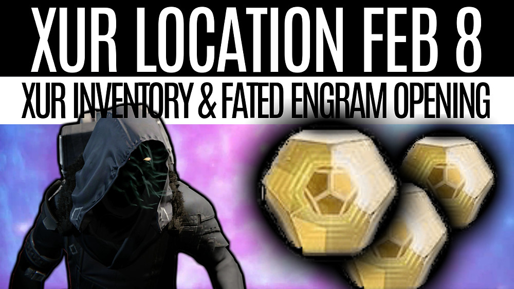 xur location and inventory, xur stock feburary 8th 2019