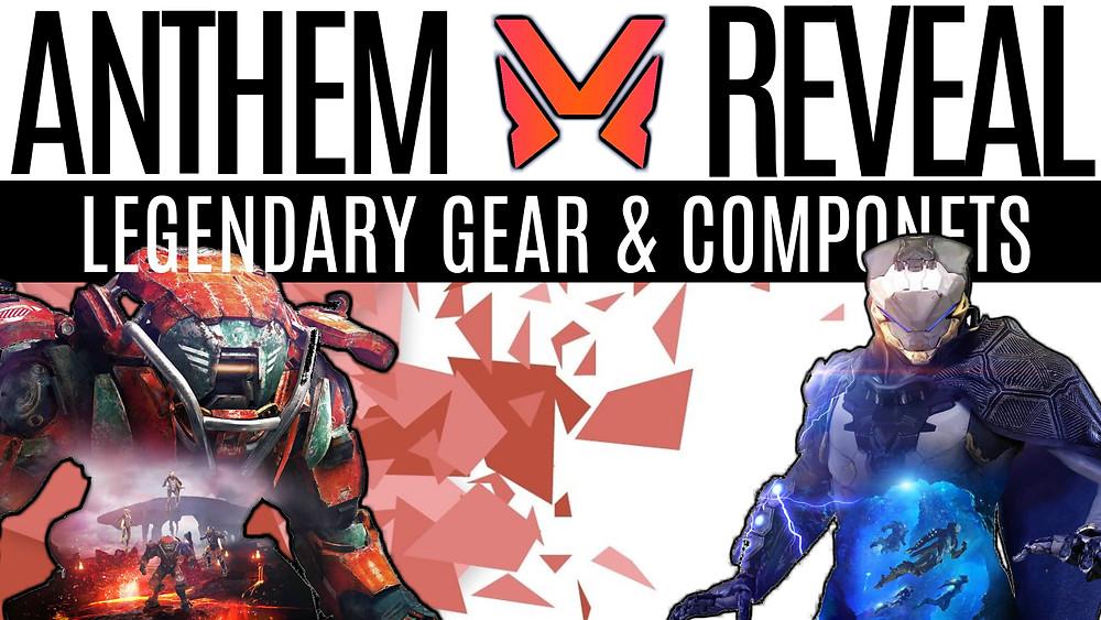 ANTHEM - New Gameplay, Masterwork & Legendary Weapons, Components