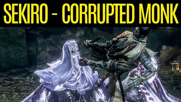 SEKIRO-Corrupted-Monk-Boss-Fight, How-to