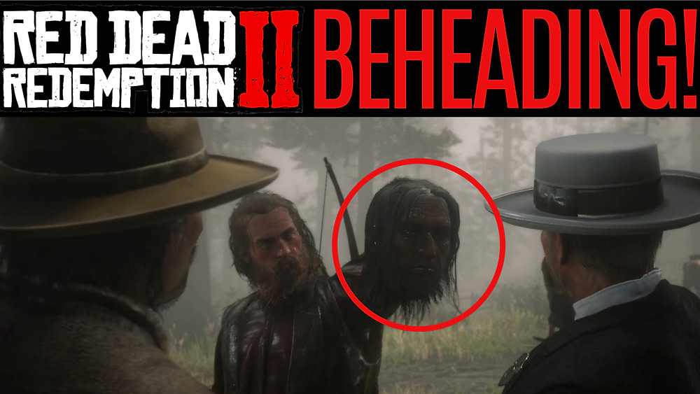 RED DEAD 2 ONLINE BEHEADING! Where Your Morals Lead You