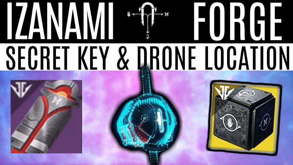 Destiny 2 - Unlocking Izanami Forge & Secret Black Armory Key
