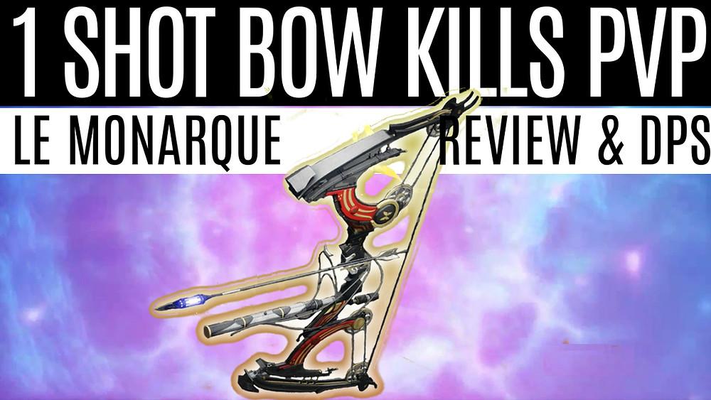 DESTINY 2 - Le Monarque 1 Shot PVP Kills, Review and DPS