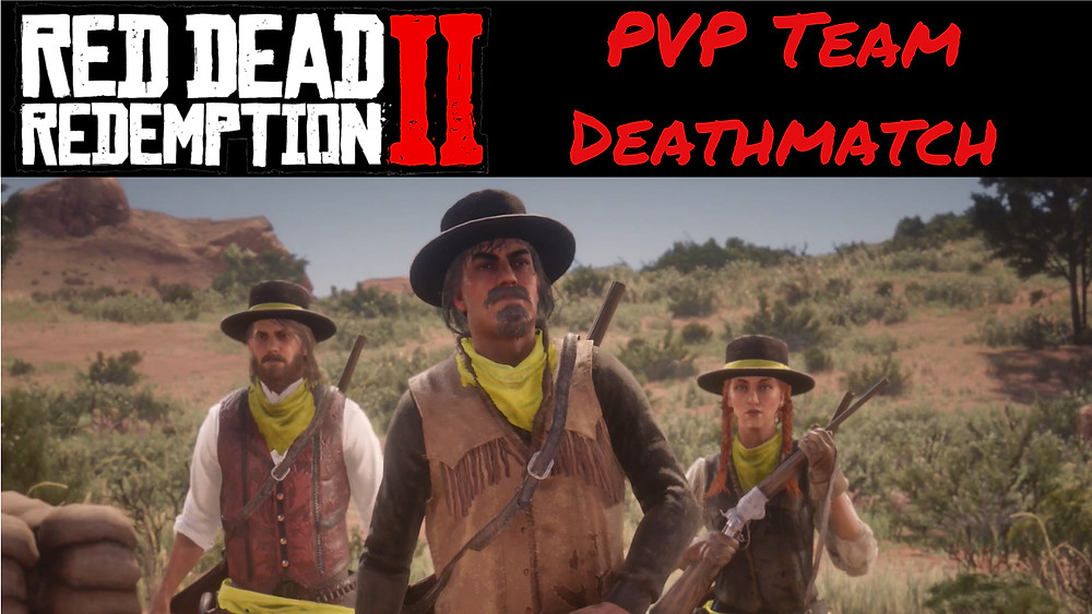 RED DEAD 2 Online PVP Name Your Weapon - Team Deathmatch