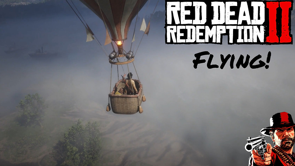 red dead redemption 2 flying! Icarus and Friends