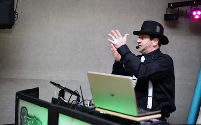 DJ in Action...