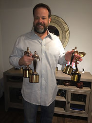 Jody with his Awards