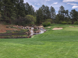 Castle Pines Waterfall Hole 12