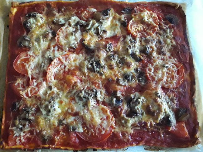 Pizza Façon Tata galette