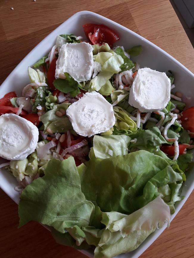 Salade Composée au Vinaigre de Xérès