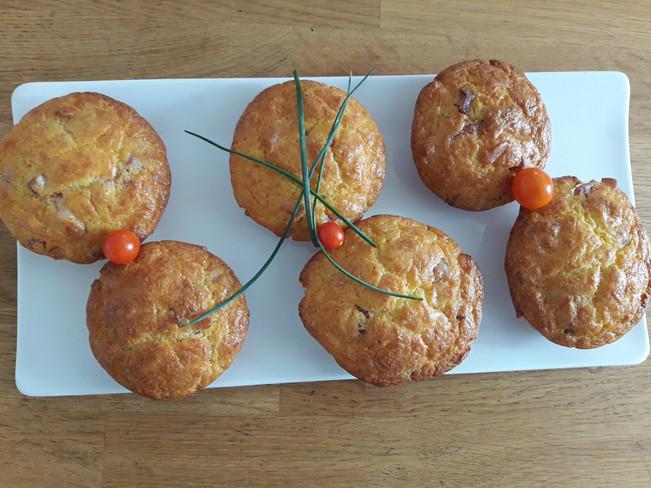 Muffins Lardons Emmental