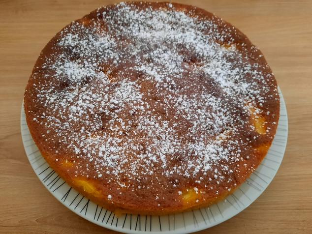 Gâteau yaourt ,pommes et cannelle