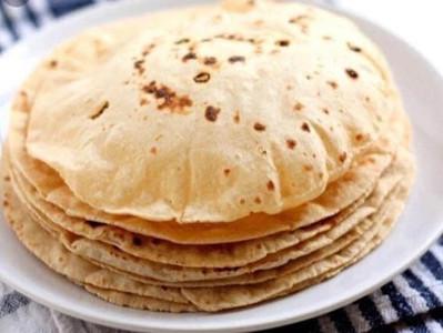 ROTI (Vegan chapatti - unleavened flat bread)