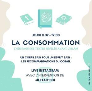 """CHAPITRE 40 : CONFERENCE """" la consommation, l'héritage des textes révélés avant l'islam"""""""