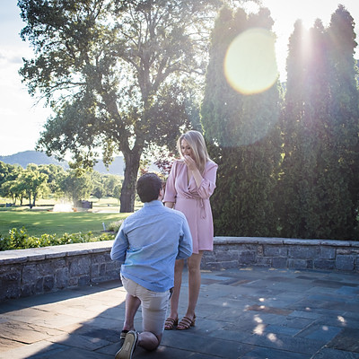 Zach & Ansley - Surprise Marriage Proposal
