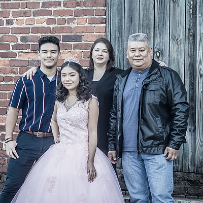 Quinceanera/Family photos