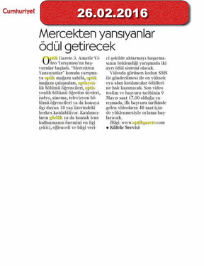 26 February 2016 - Cumhuriyet Gazetesi