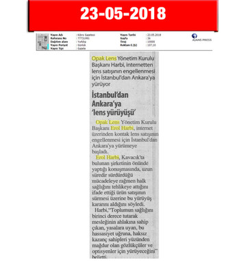 23 May 2018, Cyprus Newspaper